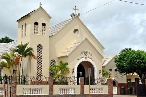 Resultado de imagen para foto de la iglesia san antonio de padua en la calle del sol en santiago
